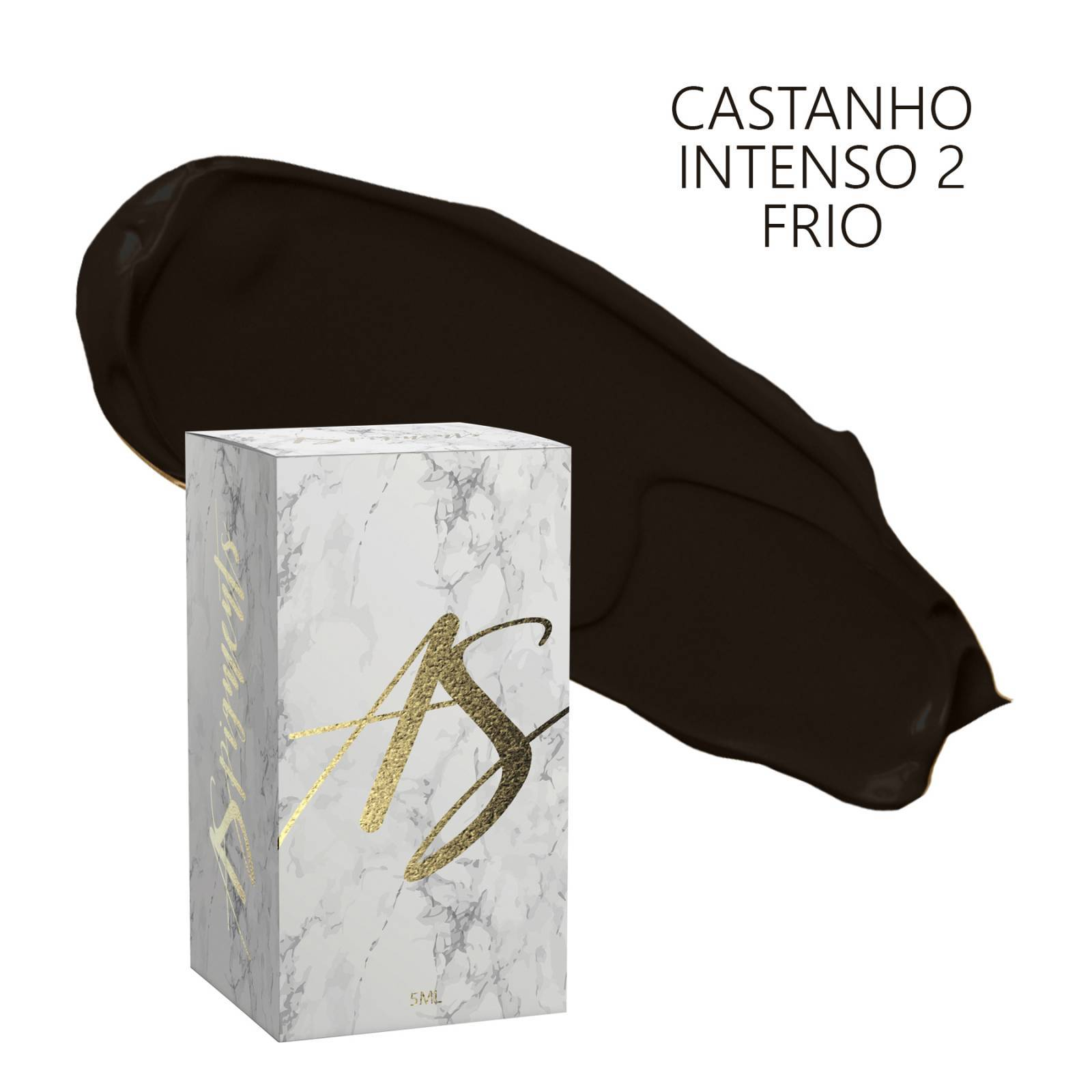 Pigmento Castanho intenso 2 frio- embalagem 5 ml - Loja Ana Paulla