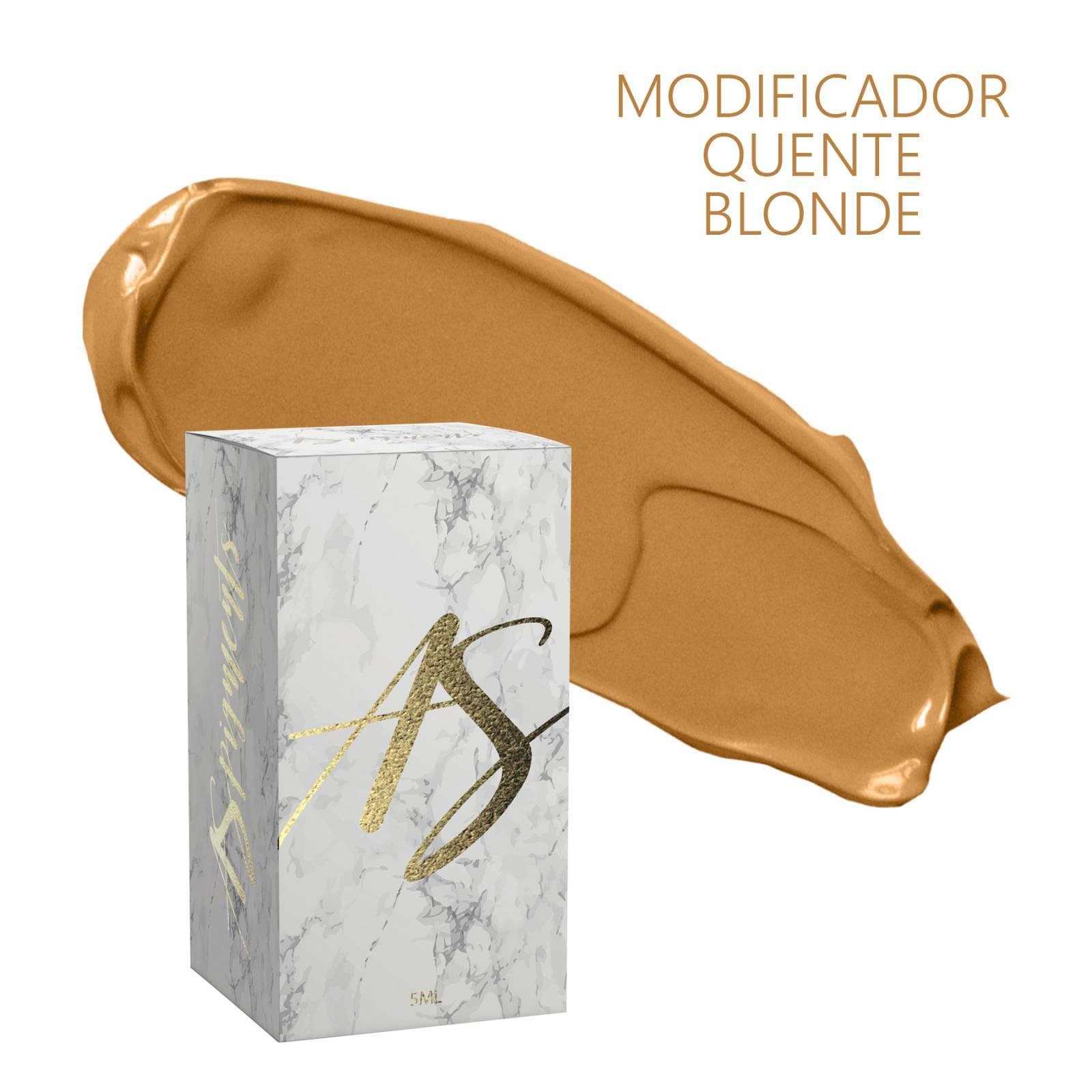 Pigmento Modificador quente Blonde- embalagem 5 ml - Loja Ana Paulla