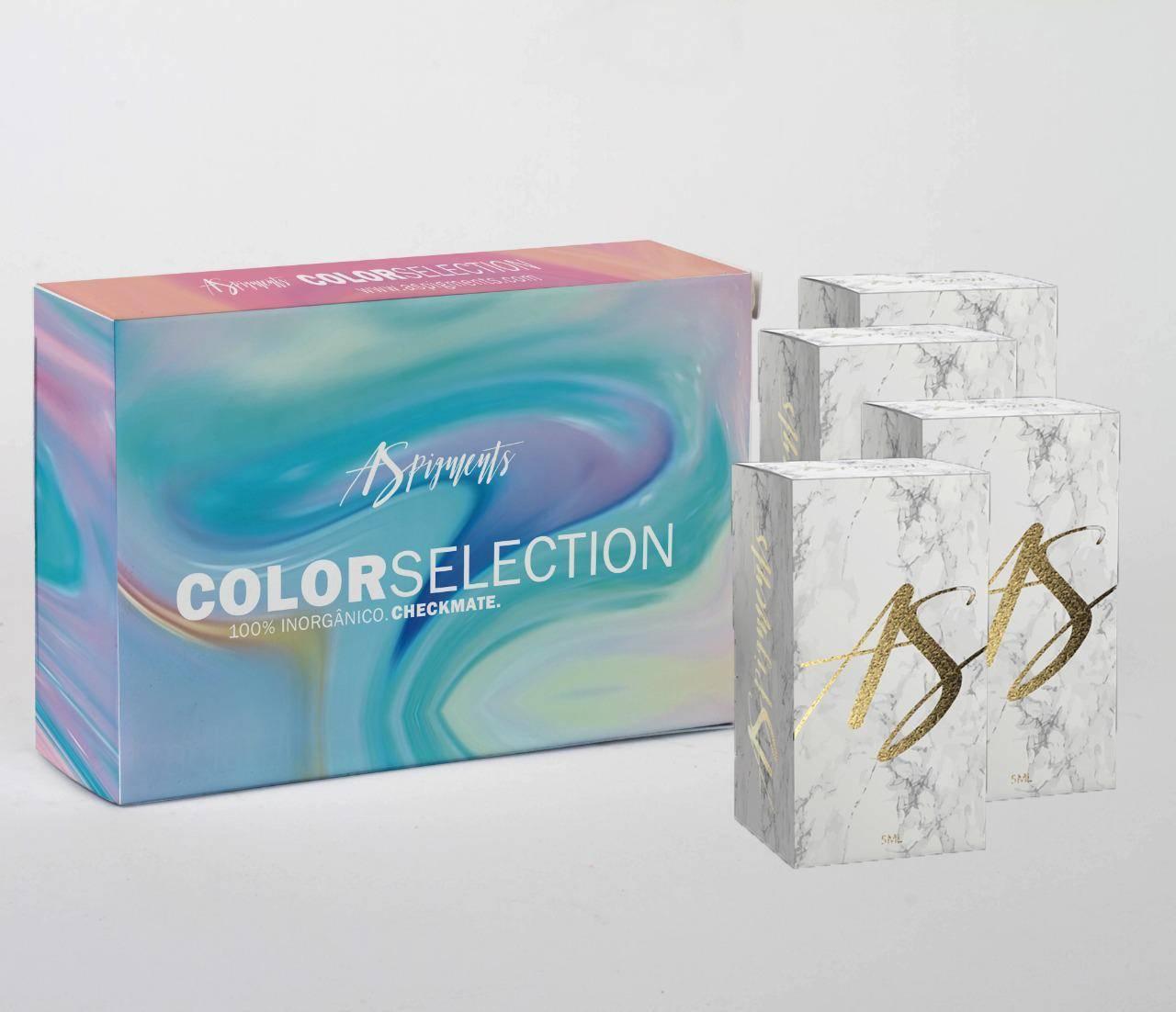 KIT COLOR SELECTION 2 -contém 4 frascos de 5 ml - Loja Ana Paulla