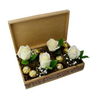 Delicado de Rosas | Florisbella Floricultura