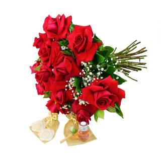 Kit Eternos Namorados | Florisbella Floricultura