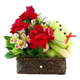 Baú do Amor | Florisbella Floricultura