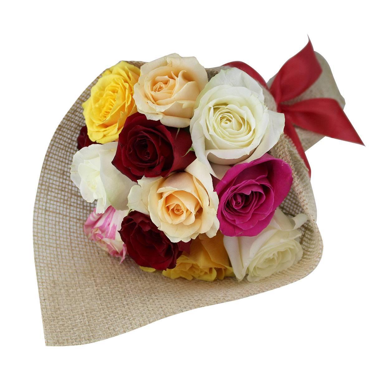 Buquê de Rosas Coloridas - Florisbella - Matriz Campinas