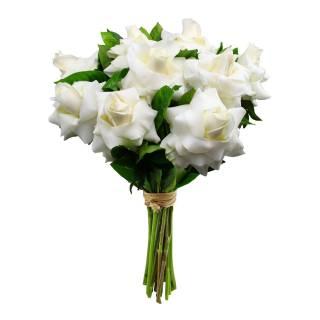 Buquê de Rosas Colombianas Brancas | Florisbella Floricultura