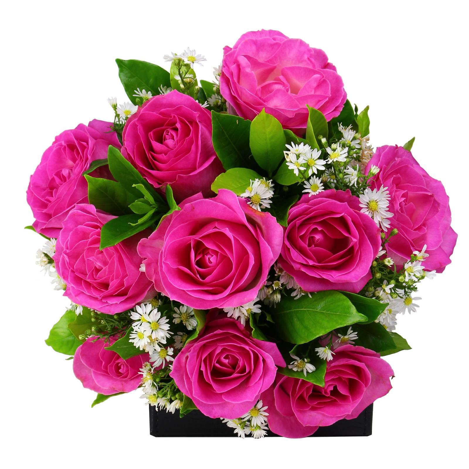 Buquê Rosas Cor de Rosas