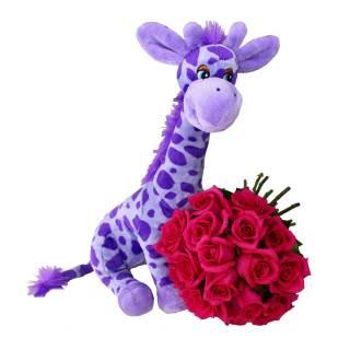 Girafa Encantada | Florisbella Floricultura