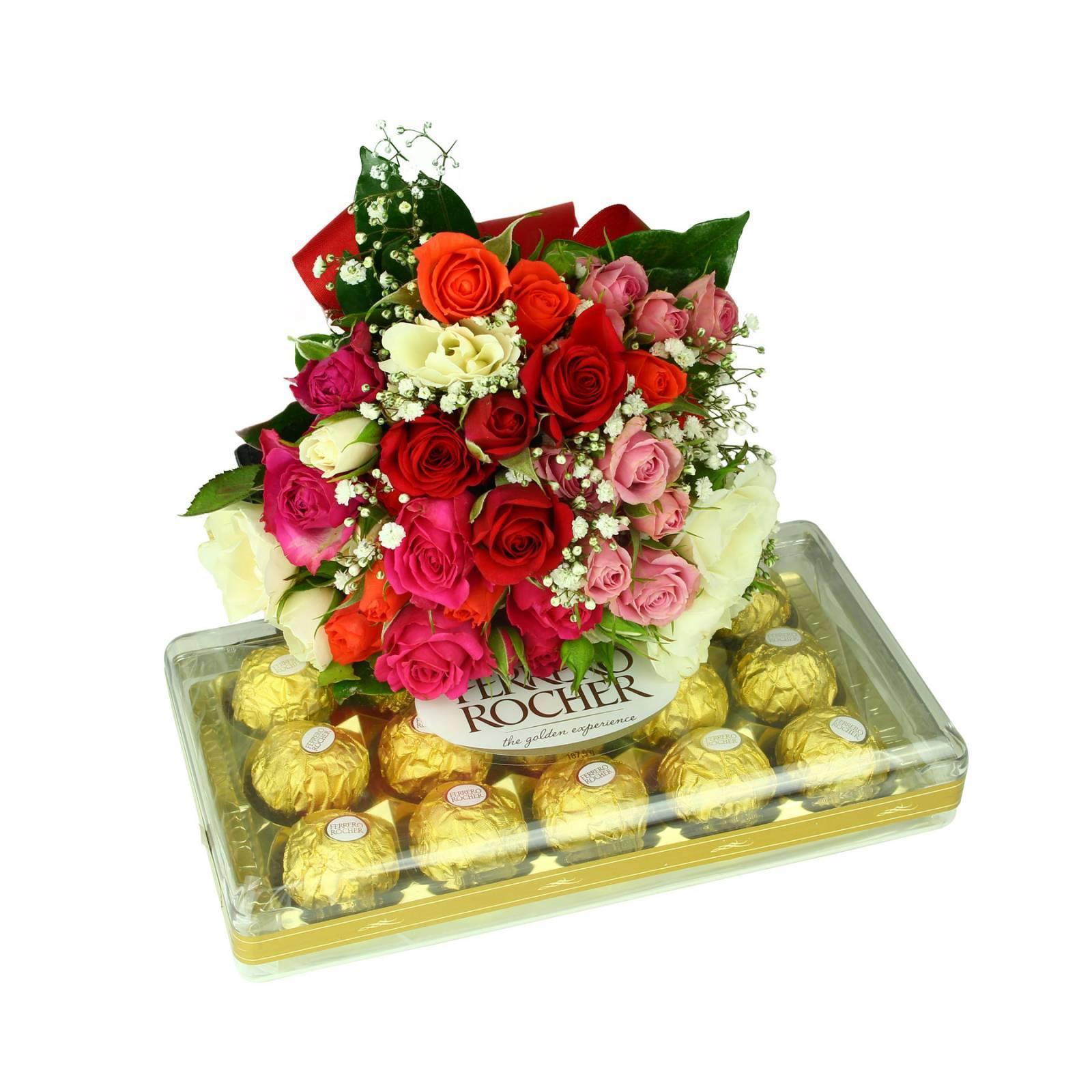 Colorido Mini Rosa e Ferrero