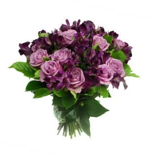 Rosa e Alstroemérias | Florisbella Floricultura