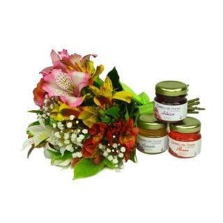 Colorido de Alstroeméria e Geléia de Flores | Florisbella Floricultura