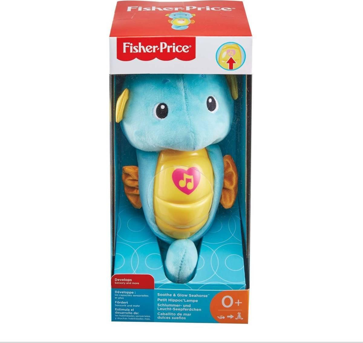 Cavalo Marinho Com Luzes Fisher-Price - Mattel DGH82 -