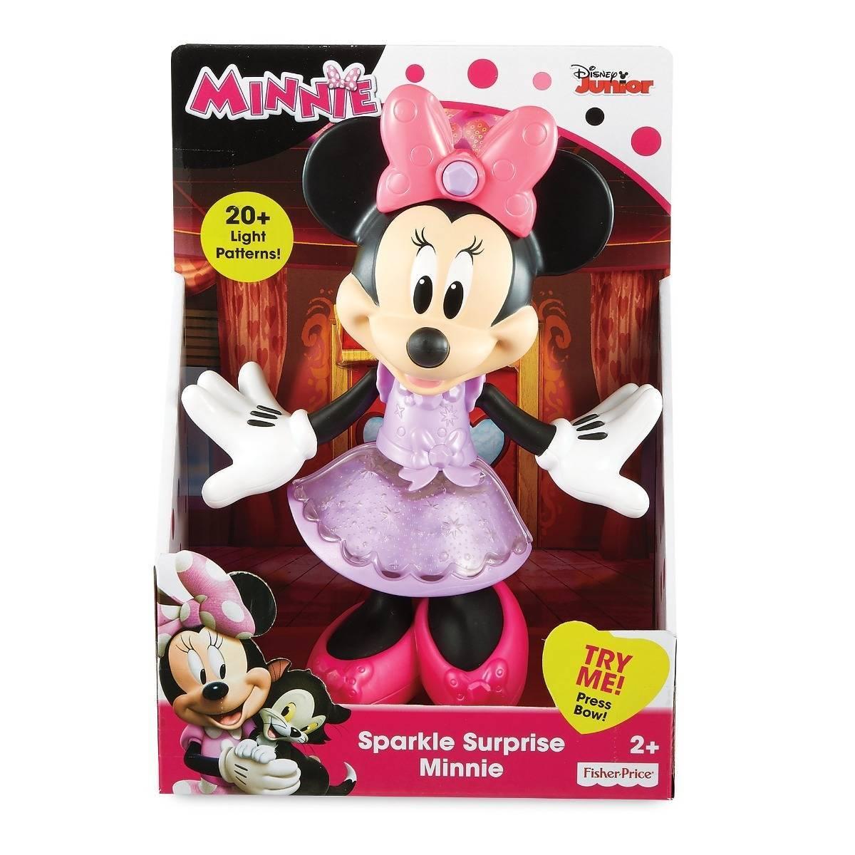 Posar e Brilhar Minnie Mouse Fisher-Price - MattelFJH44 - Noy Brinquedos