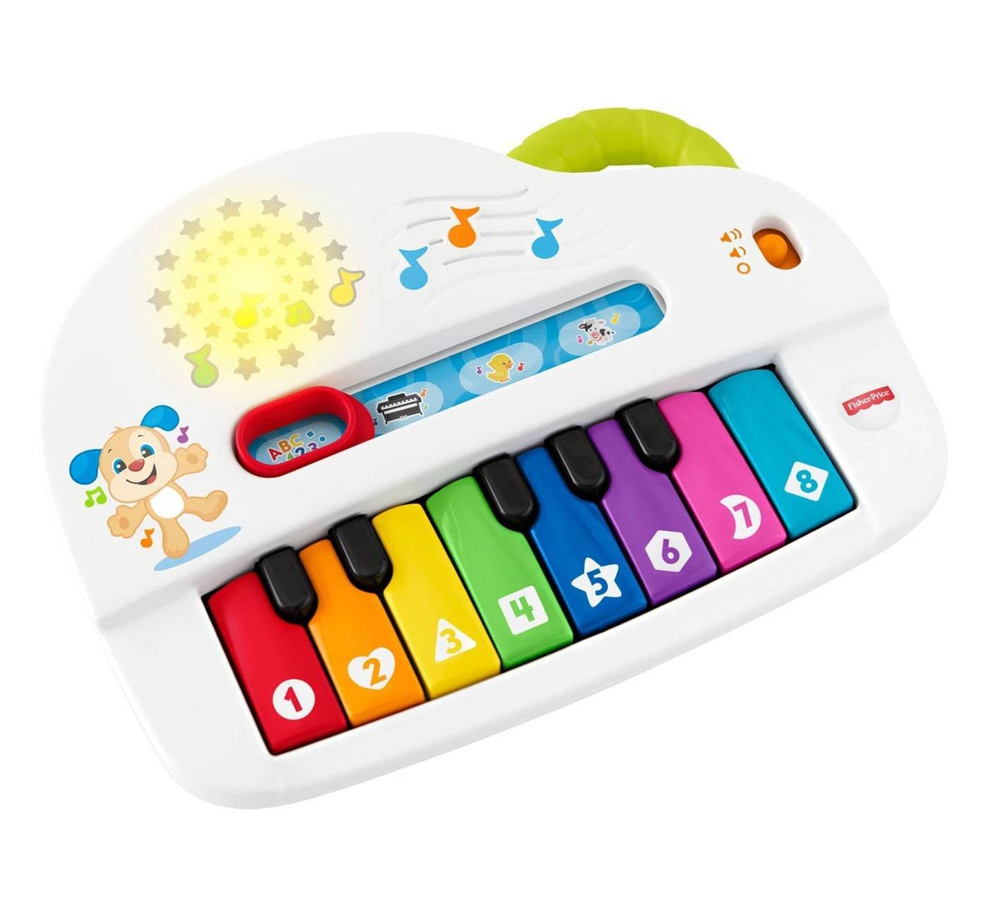 Silly Sounds Light-up Piano Fisher-Price - Mattel GFX34 - Noy Brinquedos