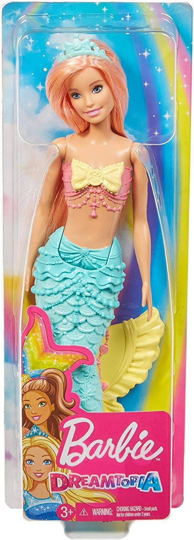 Verde Sereia Dreamtopia Barbie - Mattel FXT11 - Noy Brinquedos