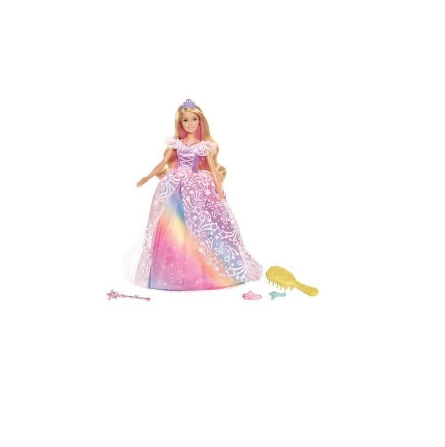 Barbie Princesa Vestido Brilhante Gfr45 - Mattel - Noy Brinquedos
