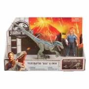 Velociraptor e Owen Conjunto Jurassic World - Mattel FMM51