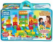 Vamos Aprender Sacola 150 Peças Mega Bloks - Mattel FVJ49