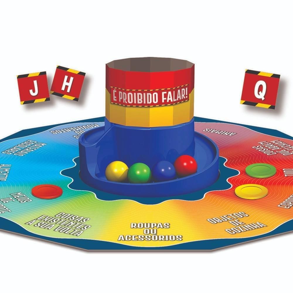 Jogo É Proibido Falar  - Grow 03454 - Noy Brinquedos