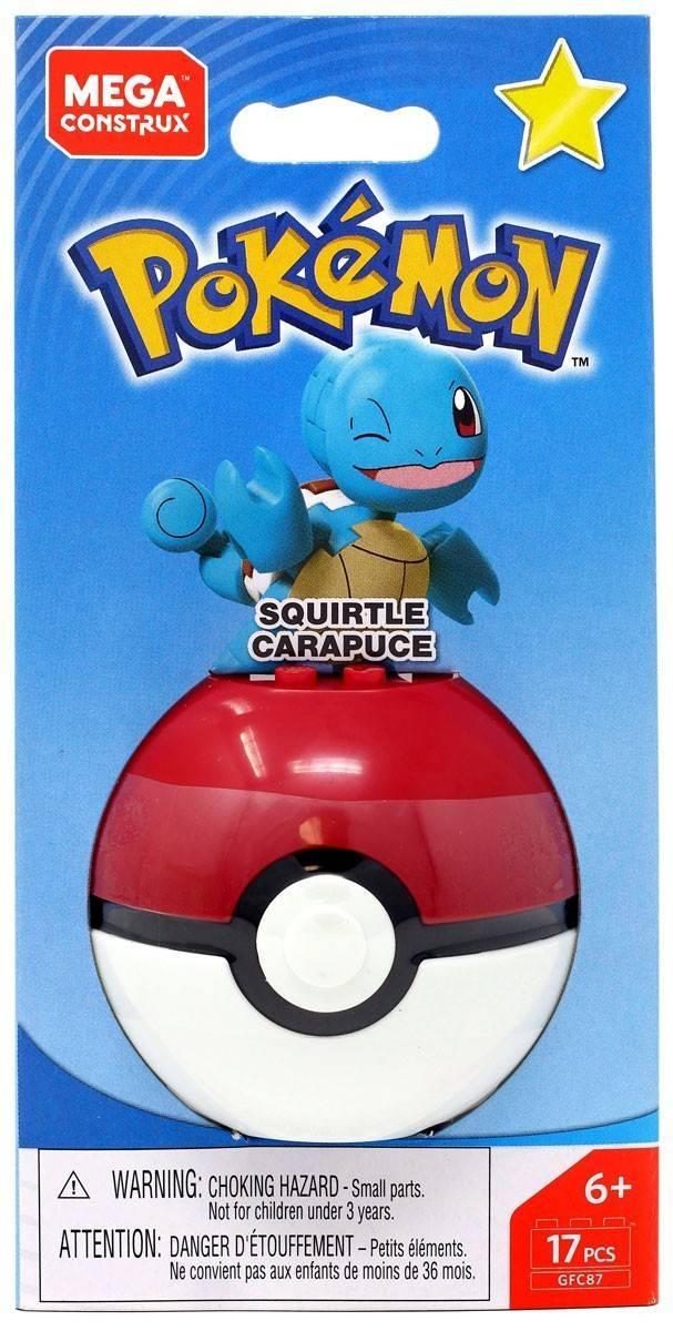 Squirtle Mega Construx Pokémon - Mattel GFC87 - Noy Brinquedos