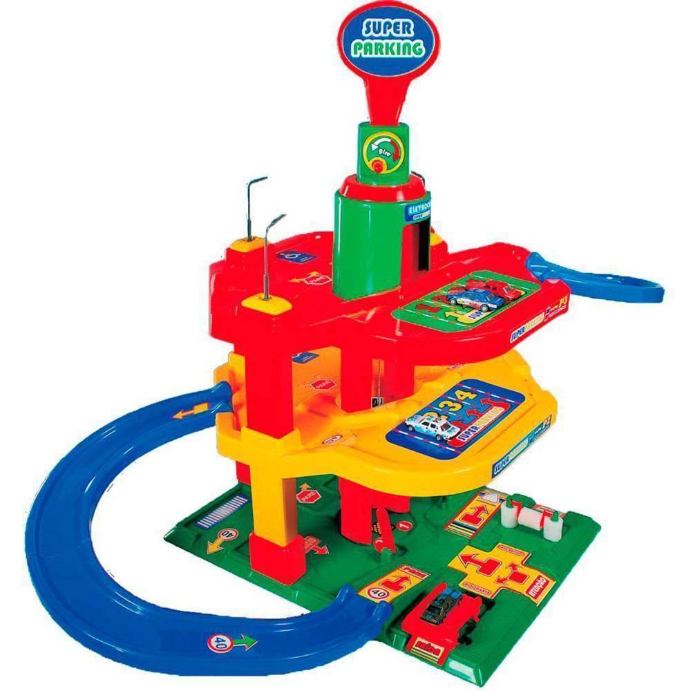 Posto Super Parking Lava Rápido - Maptoy 341-0 - Noy Brinquedos