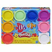 Kit com 8 Cores do Arco-íris Play-Doh - Hasbro E5062