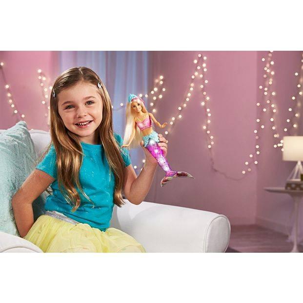 Barbie Sereia Dreamtopia Luzes Arco-Íris - Mattel GFL82 - Noy Brinquedos