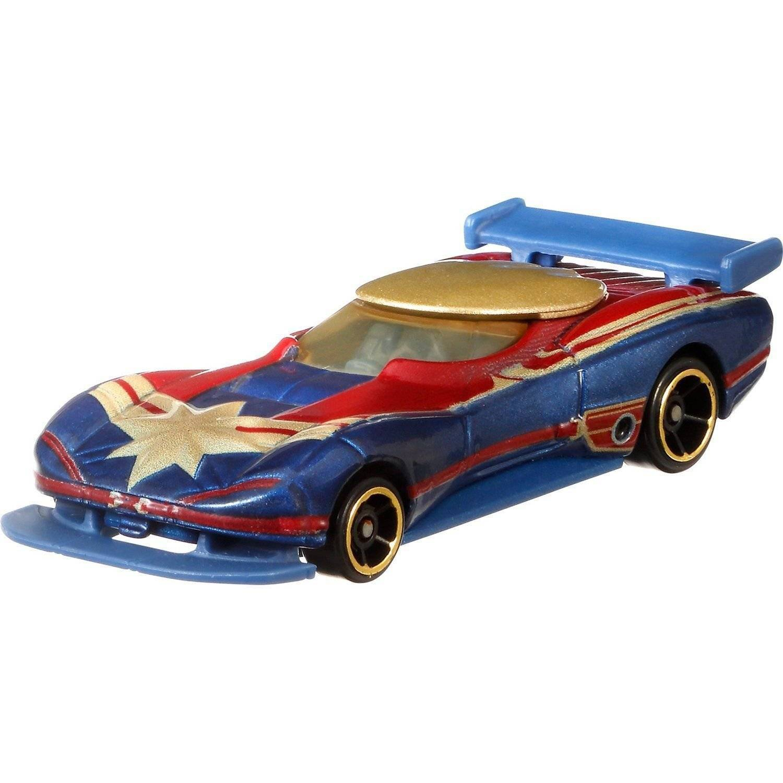 Carrinho Hot Wheels Marvel: Capitã Marvel - Mattel FYV04 - Noy Brinquedos
