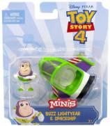 Mini Boneco Buzz Lightyear e Nave Toy Story 4 - Mattel GCY61