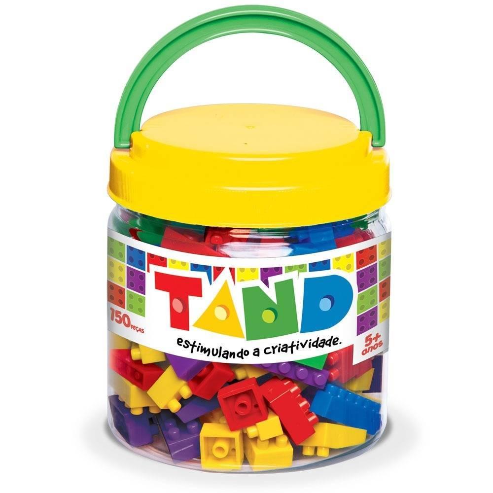 Blocos De Montar Tand  150 peças - Toyster 1943 - Noy Brinquedos