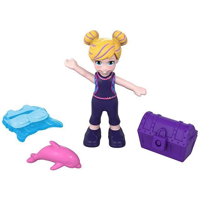Mini Fundo do Mar Polly Pocket - Mattel FRY33 - Noy Brinquedos