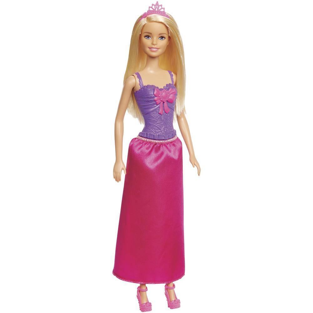 Boneca Barbie Princesa Loira  - Mattel GGJ94 - Noy Brinquedos