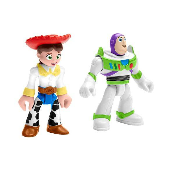 Buzz Lightyear e Jessi Toy Story 4 Imaginext - Mattel GFT02 - Noy Brinquedos