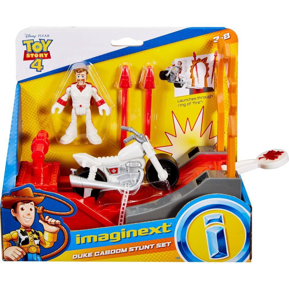 Duke Caboom Manobras de Aço Toy Story 4 - Mattel GBG72 - Noy Brinquedos