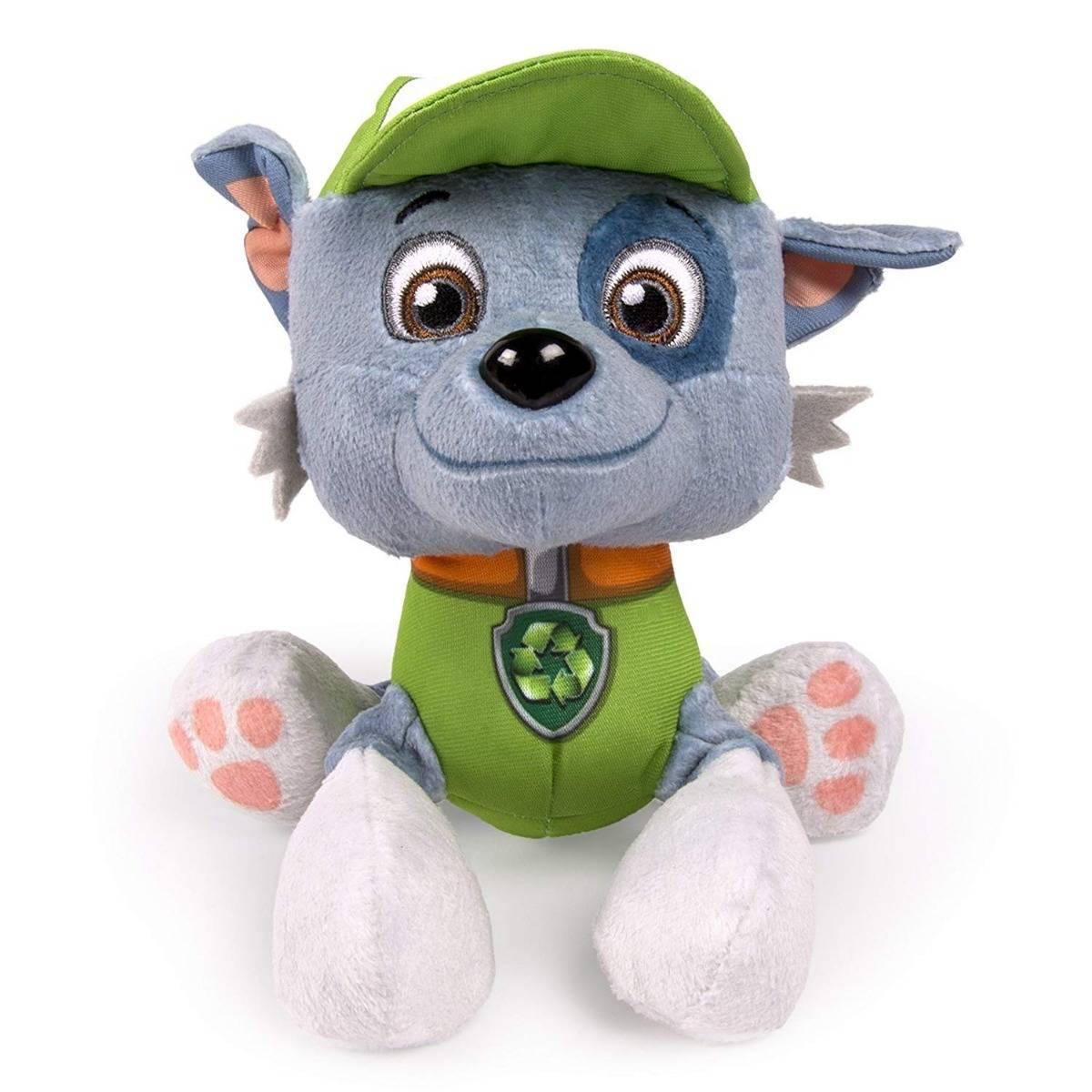 Pelúcia Rocky 15cm Patrulha Canina - Sunny 1326 - Noy Brinquedos