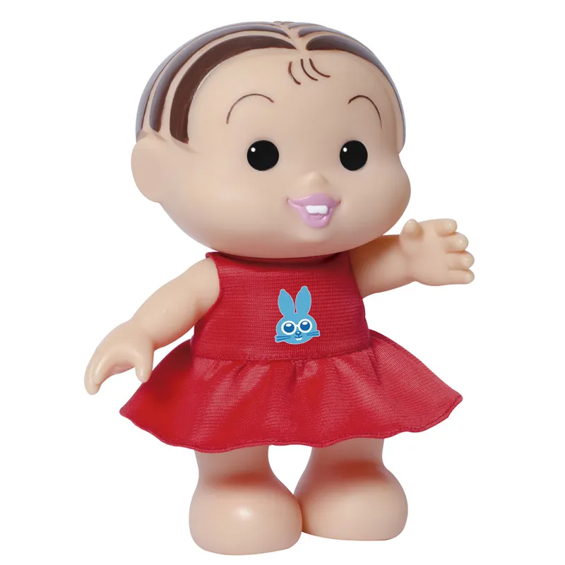 Boneca Mônica Iti Malia Turma da Mônica - BabyBrink 1020 - Noy Brinquedos