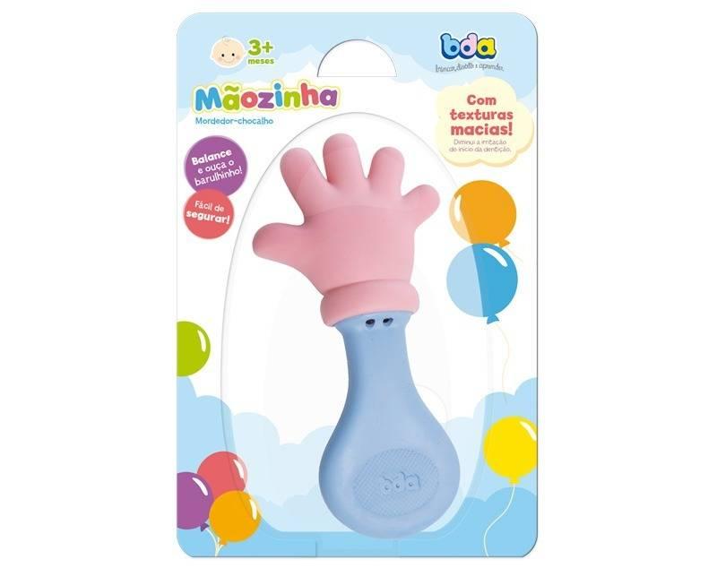 Mordedor/Chocalho Mãozinha - Toyster 2097 - Noy Brinquedos