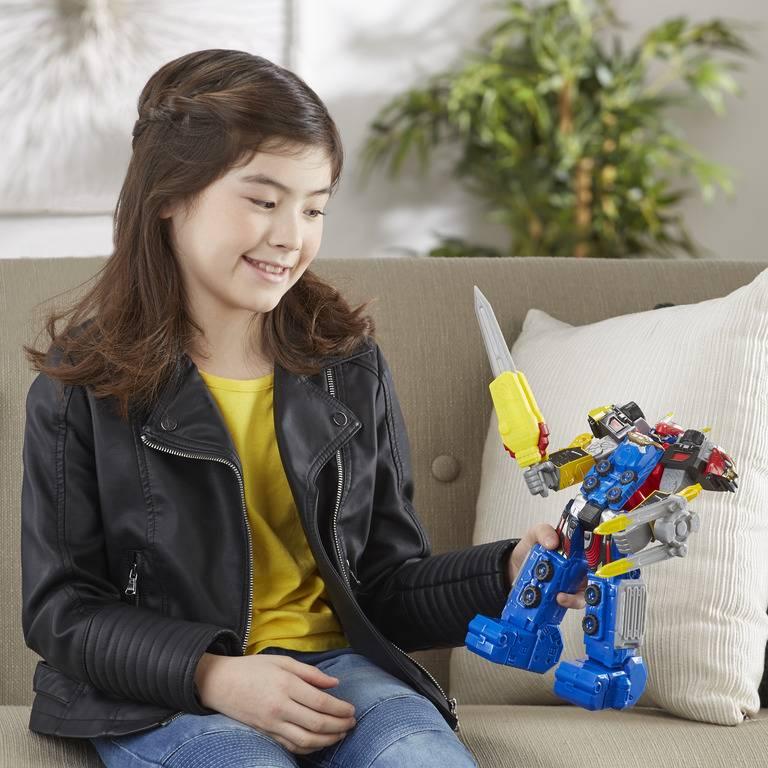 Boneco Megazord Beast-X Power Rangers - Hasbro E5948 - Noy Brinquedos