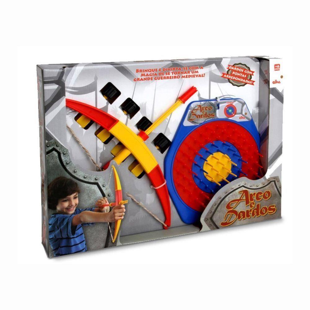 Jogo Arco e Dardos - Elka 463 - Noy Brinquedos