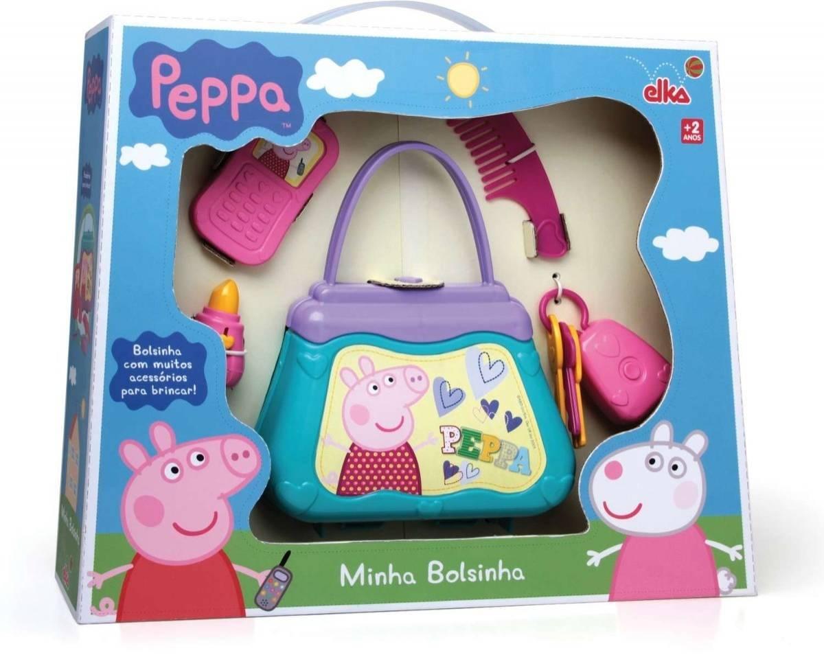 Minha Bolsinha Peppa Pig - Elka 937 - Noy Brinquedos