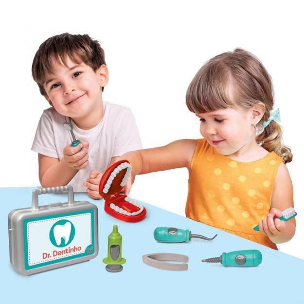 Maleta Dr. Dentinho - Elka 952 - Noy Brinquedos