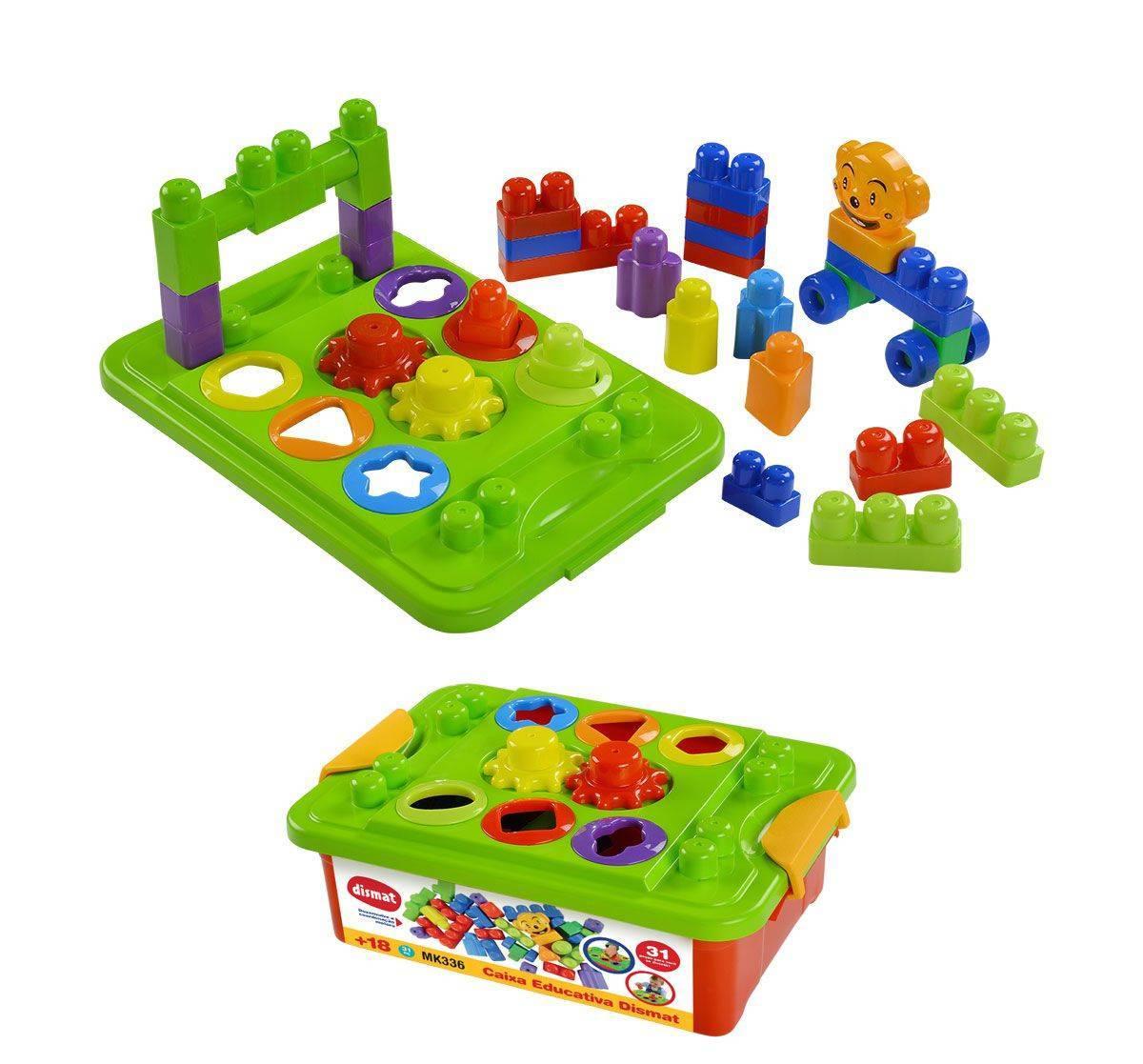 Caixa Educativa  - Dismat MK336 - Noy Brinquedos