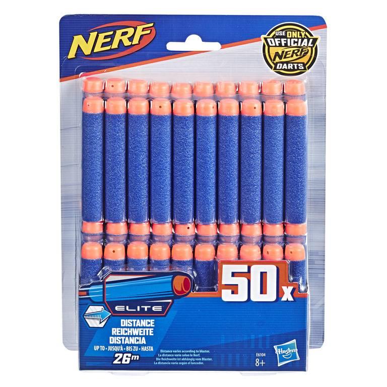 Refil Com 50 Dardos Nerf Elite - Hasbro E6104 - Noy Brinquedos