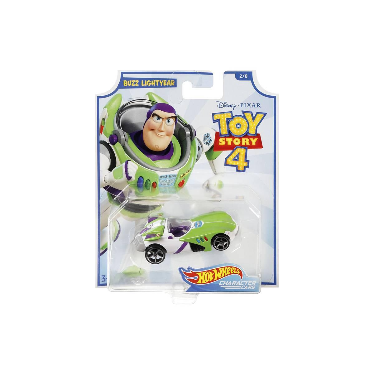 Buzz Toy Story 4 Character Cars Hot Wheels - Mattel GCY54 - Noy Brinquedos