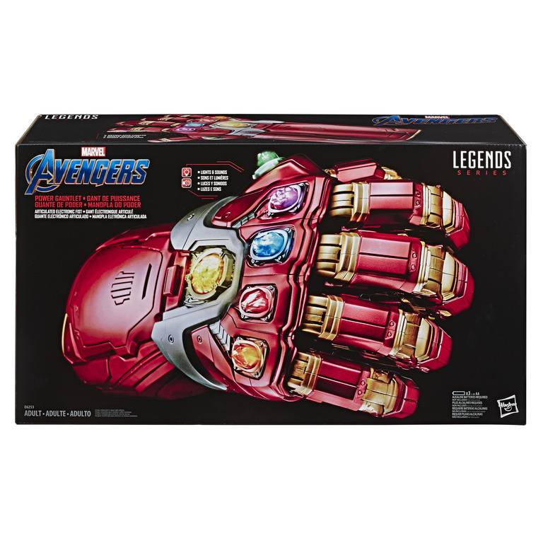 Manopla Iron Man Articulada Marvel Legends - Hasbro E6253 - Noy Brinquedos