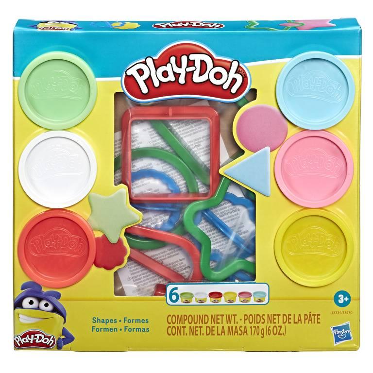 Kit Formas Play-Doh -  Hasbro E8534 - Noy Brinquedos