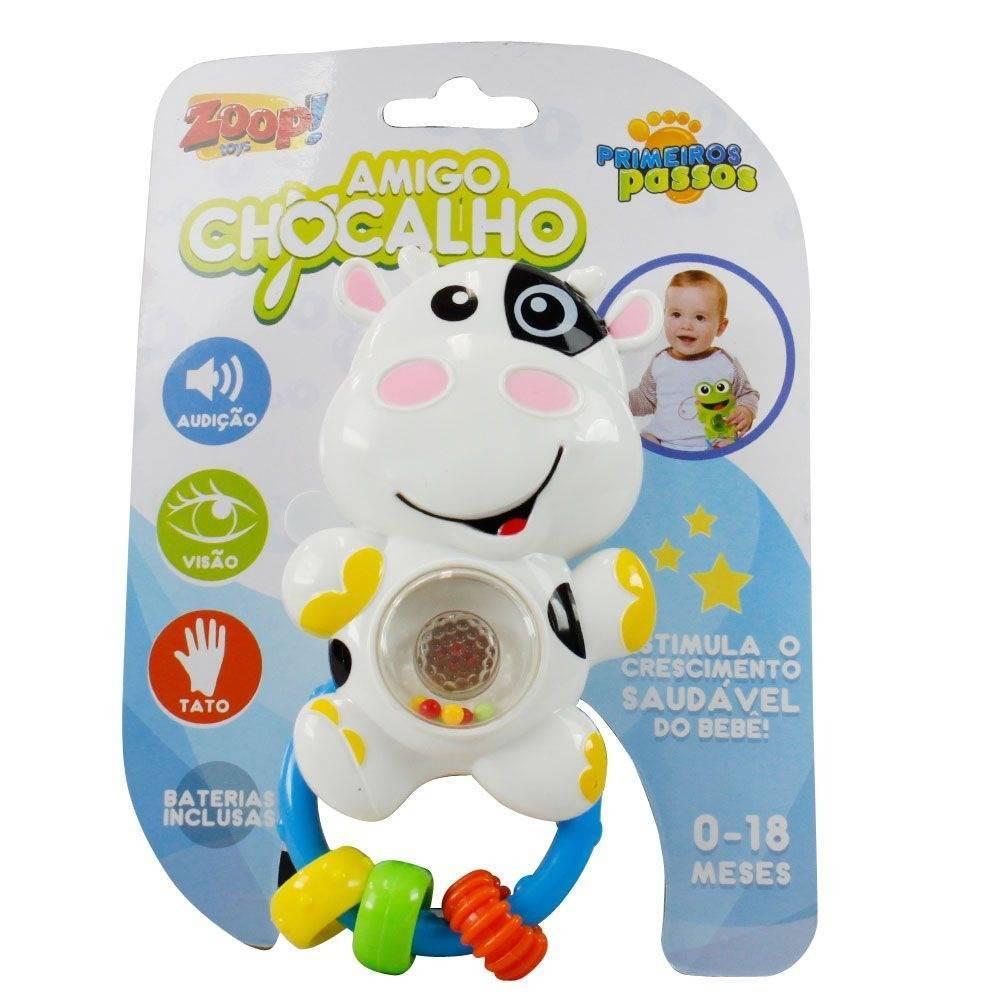 Vaquinha Amigo Chocalho - Zoop Toys ZP00015 - Noy Brinquedos