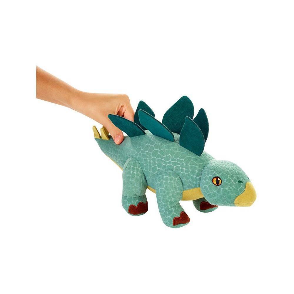 Pelúcia Estegossauro Jurassic World - Mattel FMM56 - Noy Brinquedos