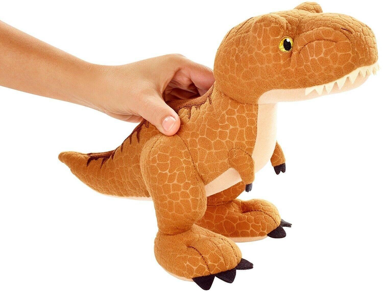 Pelúcia T-Rex Jurassic World - Mattel FMM57 - Noy Brinquedos