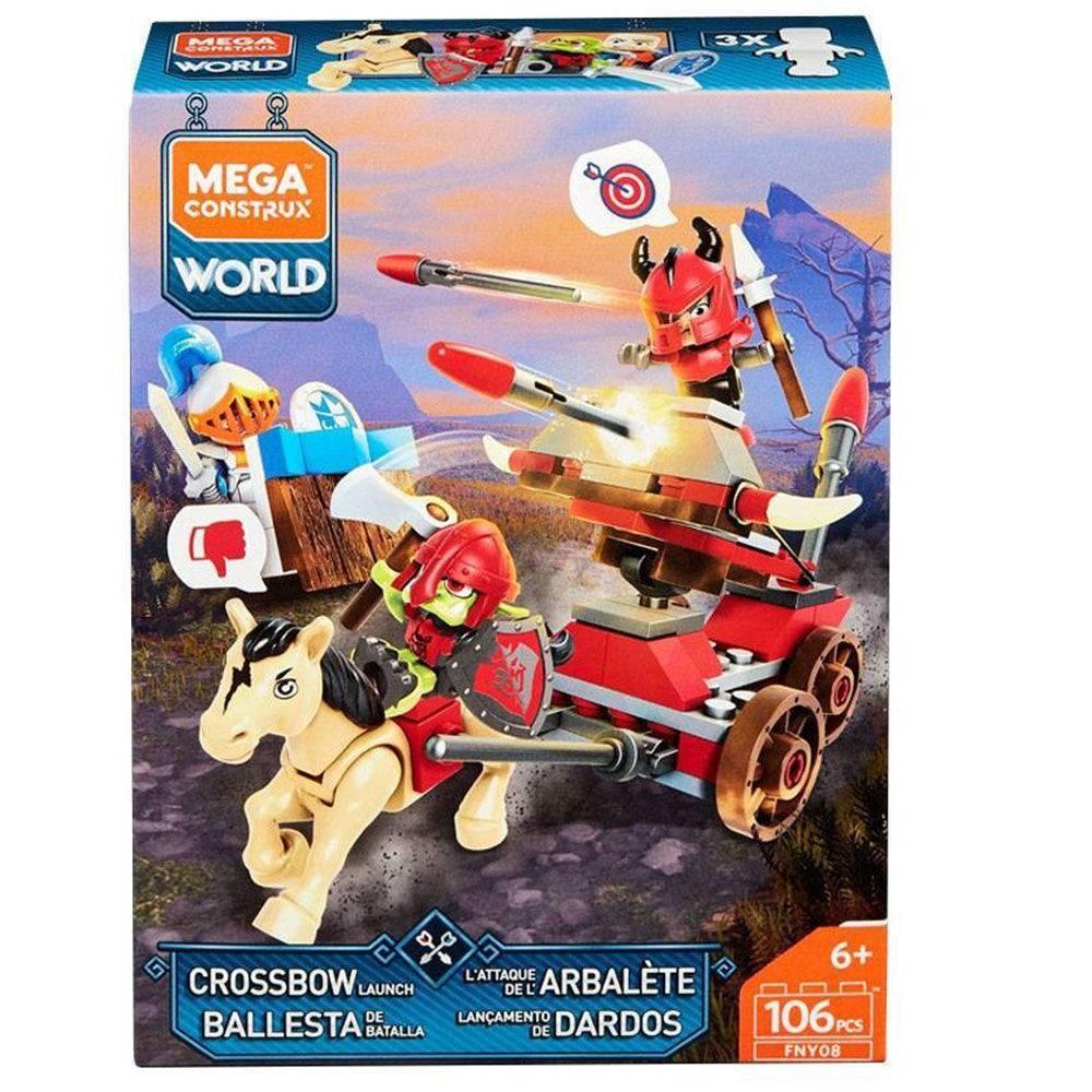 Lançamento De Dardos Mega Construx - Mattel FNY08 - Noy Brinquedos