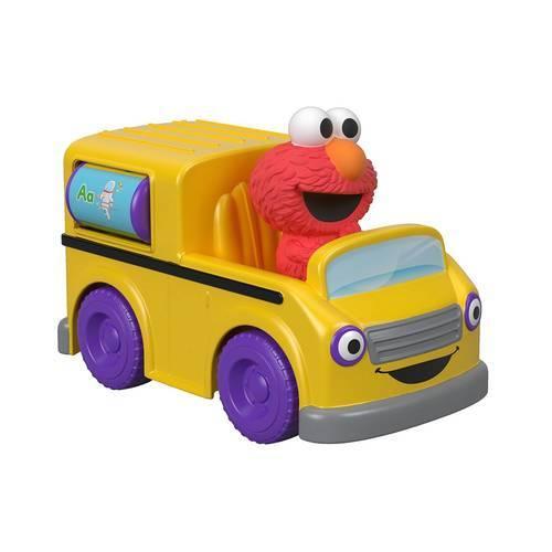 Ônibus do Elmo Vila Sésamo - Mattel FTC34 - Noy Brinquedos