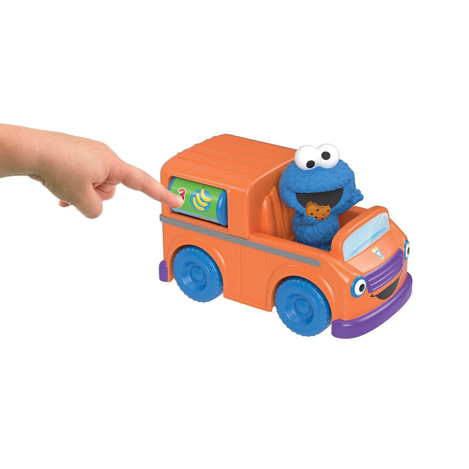 Food Truck do Come Come Vila Sésamo - Mattel FTC35 - Noy Brinquedos